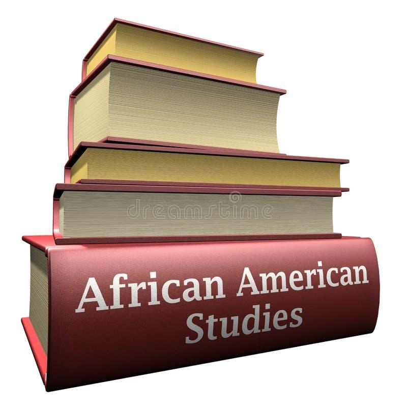 Libri di formazione - studi dell'afroamericano royalty illustrazione gratis