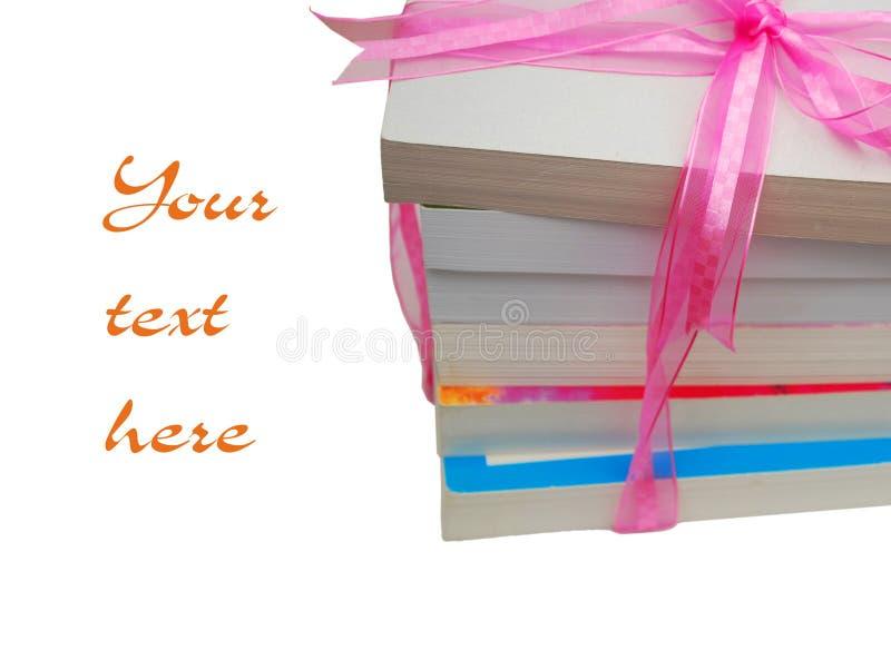 Libri di regalo fotografia stock