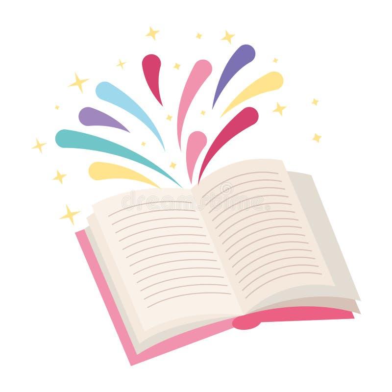 Libri e fumetti di istruzione illustrazione di stock