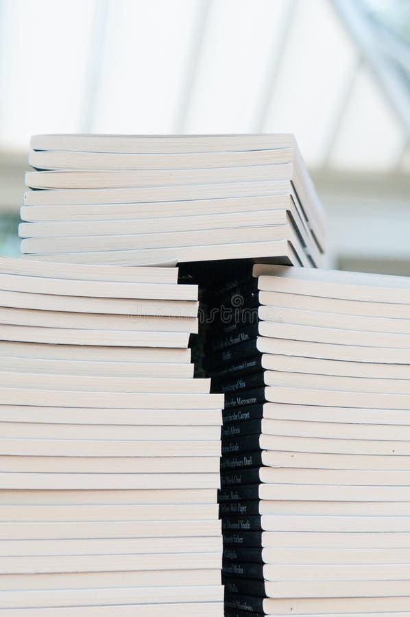 Libri impilati immagini stock libere da diritti
