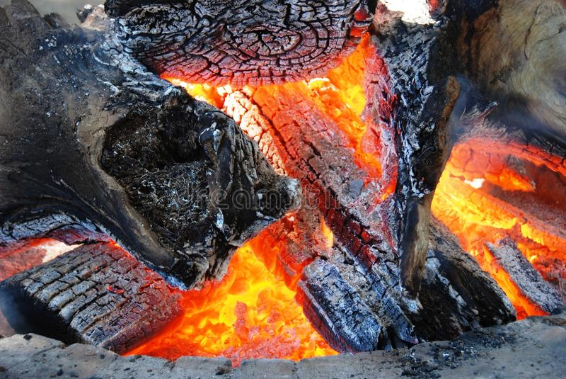 Libri macchina Burning fotografie stock libere da diritti