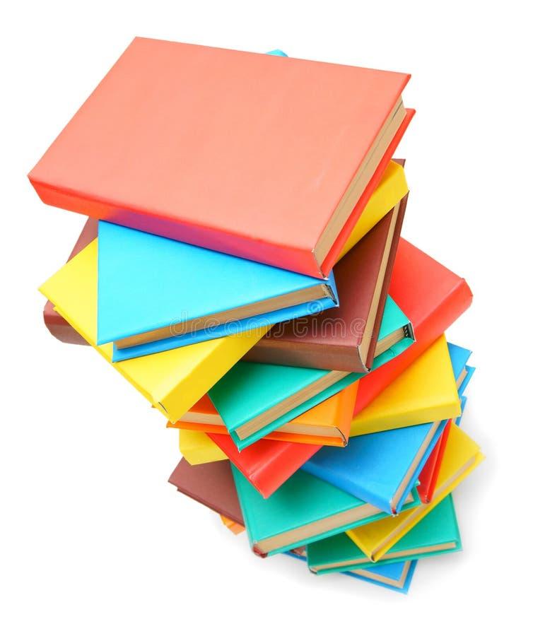 Libri multicolori fotografia stock libera da diritti