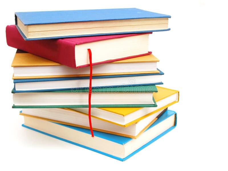 Libri nello studio fotografia stock libera da diritti