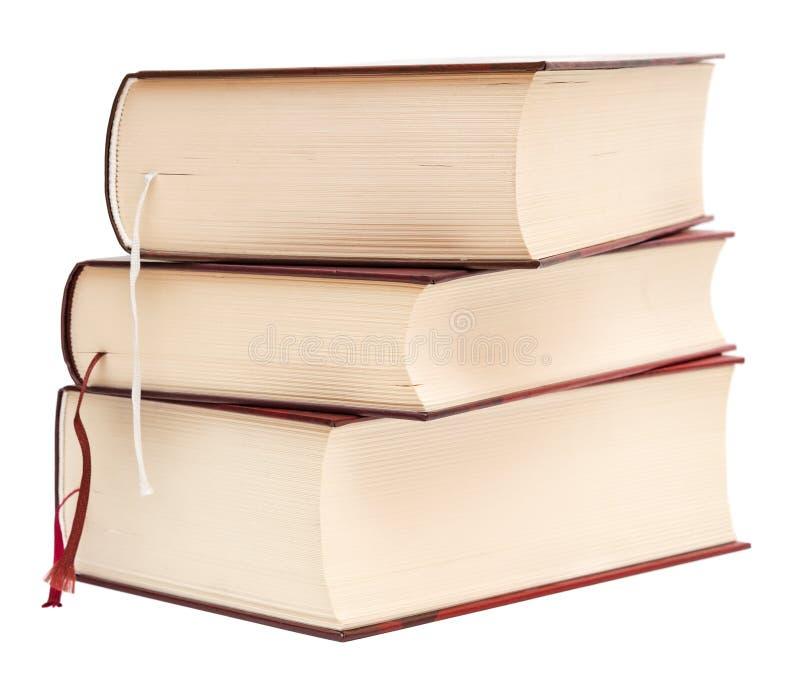 Libri spessi fotografia stock