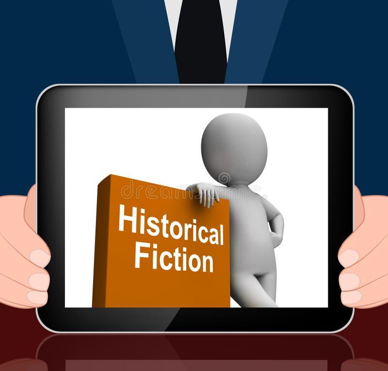 Libri storici delle esposizioni del libro e di carattere di romanzo da Histor illustrazione vettoriale