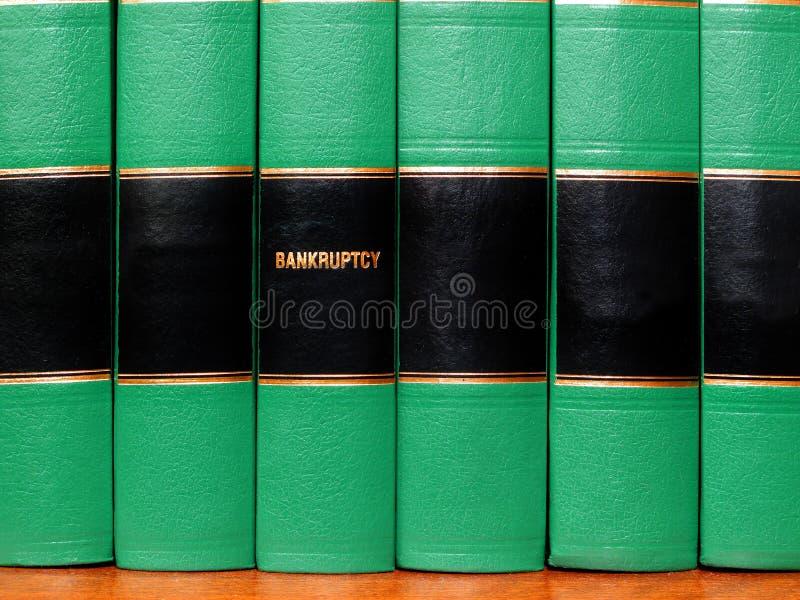Libri su fallimento immagine stock libera da diritti