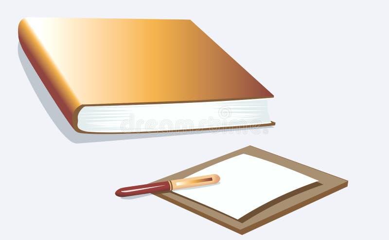 Libro illustrazione di stock