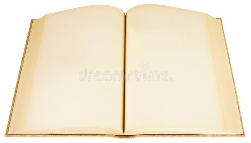 Libro abierto viejo foto de archivo