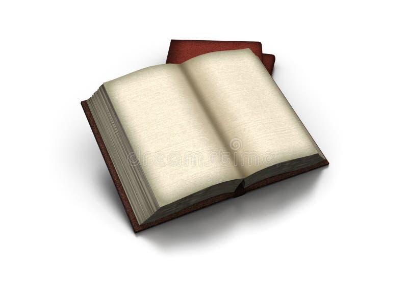 Libro abierto viejo