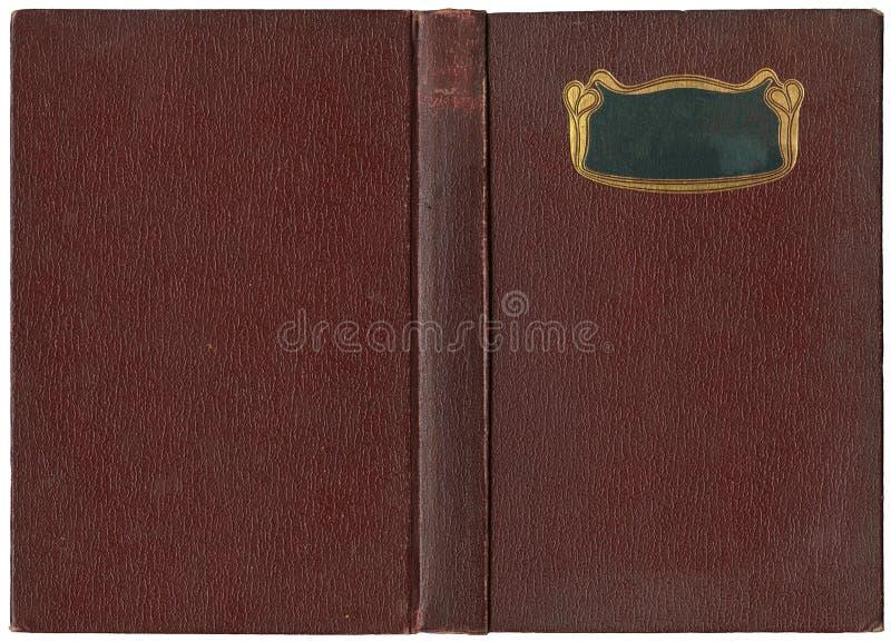Libro abierto viejo 1904 fotografía de archivo