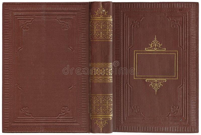 Libro abierto viejo 1900 fotografía de archivo libre de regalías