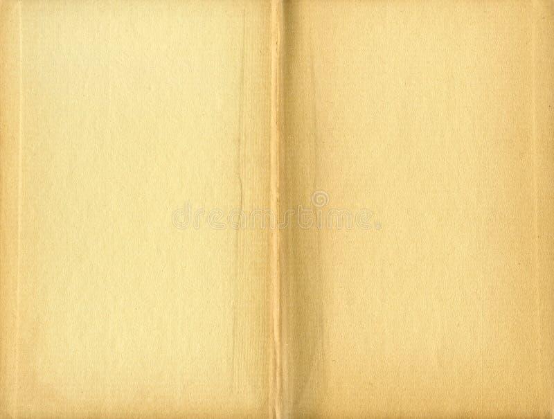 Libro amarilleado manchado adentro imágenes de archivo libres de regalías