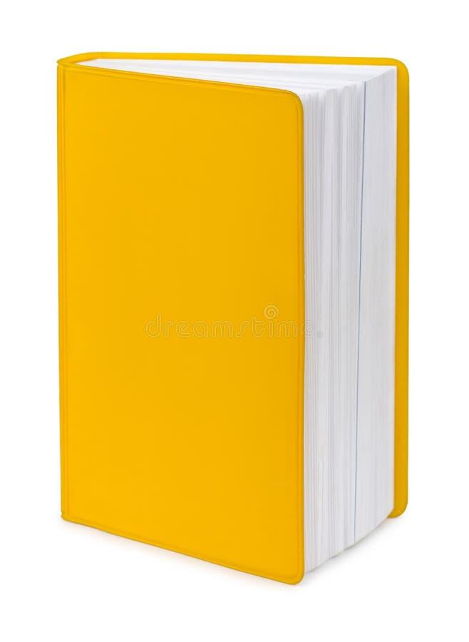 Libro amarillo imágenes de archivo libres de regalías