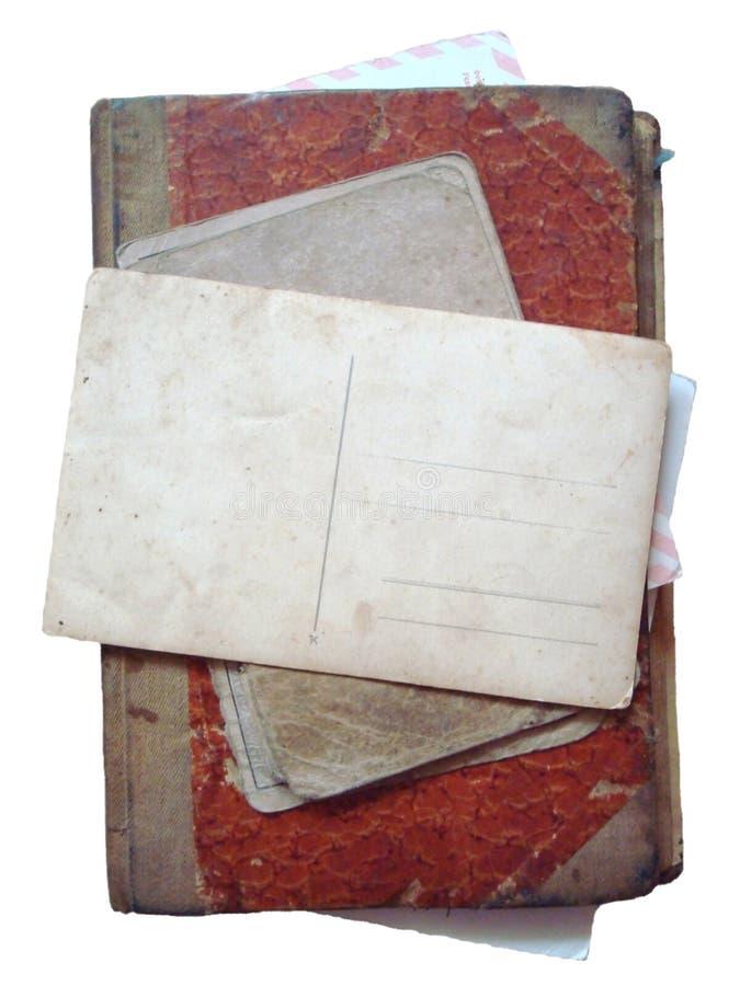 Libro antico dell'annata illustrazione di stock