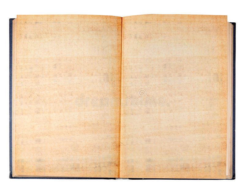 Libro antiguo de la vendimia fotografía de archivo libre de regalías