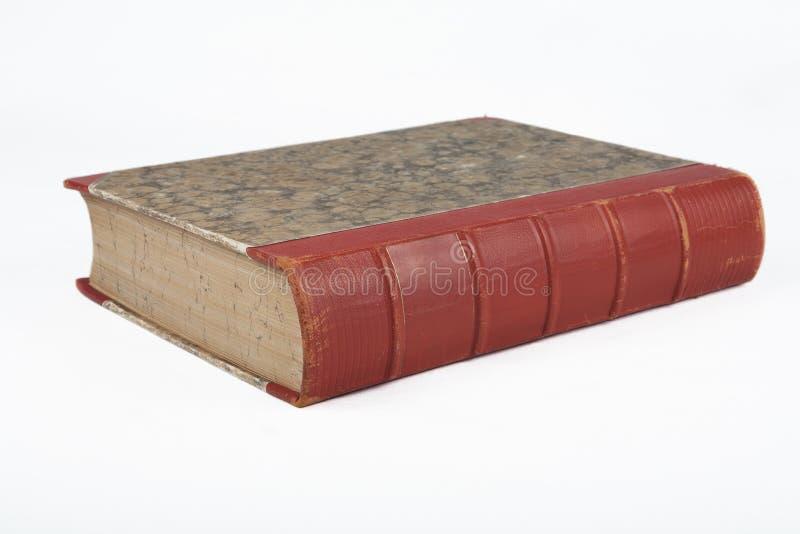 Libro antiguo viejo con textura de mármol decorativa imagenes de archivo