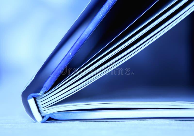 Libro azul imagen de archivo libre de regalías