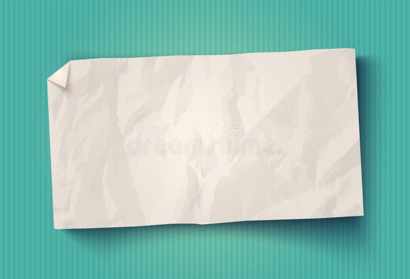 Libro Bianco d'annata di vettore royalty illustrazione gratis