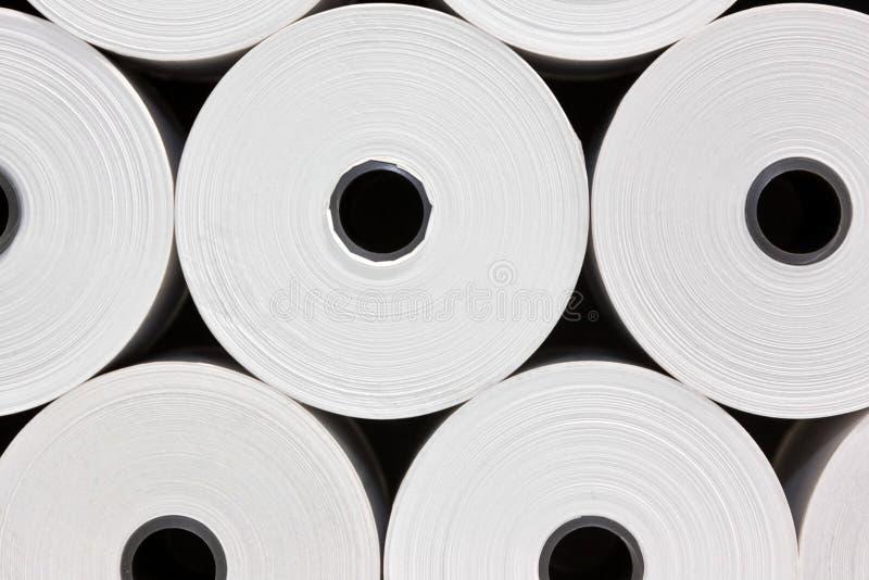 Libro Bianco Rolls immagine stock libera da diritti