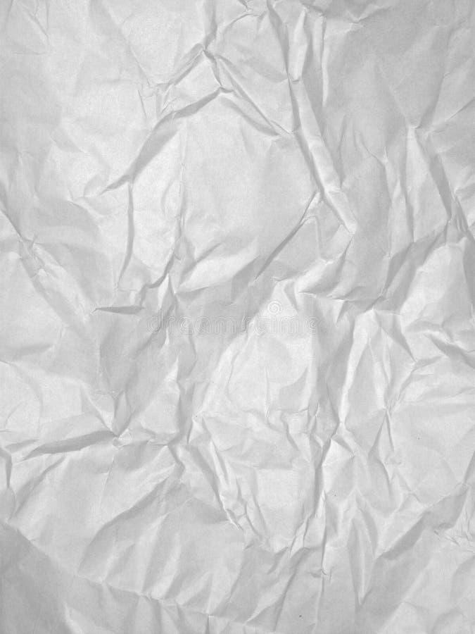 Libro Bianco sgualcito fotografia stock