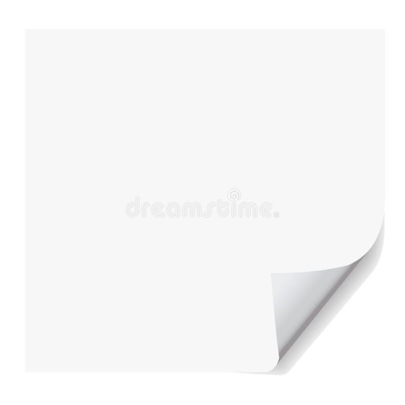 Libro Blanco ilustración del vector
