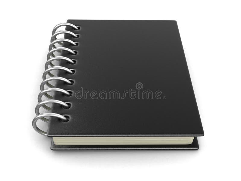 Libro con copertina rigida illustrazione di stock