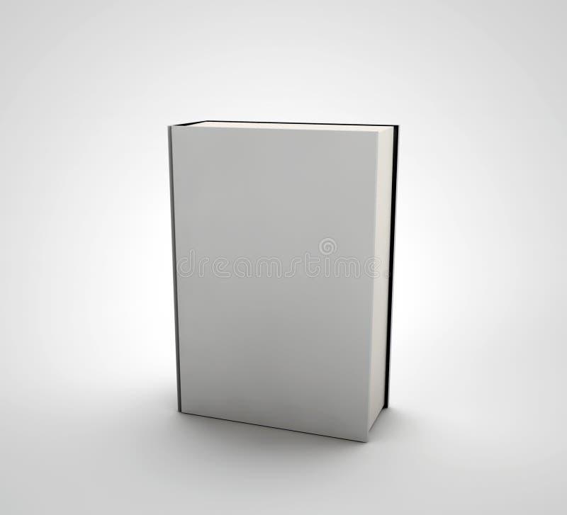 Libro con una copertura in bianco royalty illustrazione gratis