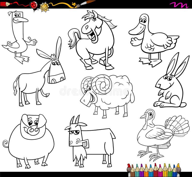 Libro da colorare degli animali da allevamento - Libro da colorare elefante libro ...