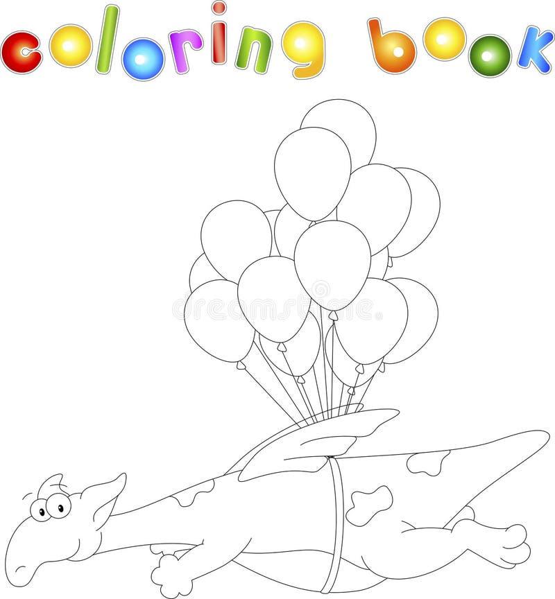 Libro da colorare per i bambini illustrazione vettoriale