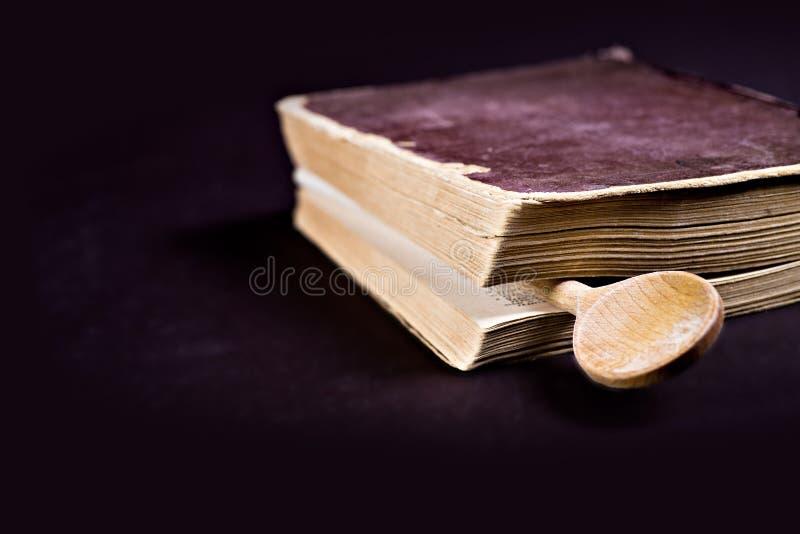 Libro de cocina fotografía de archivo