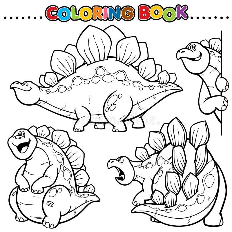 Libro de colorante stock de ilustración