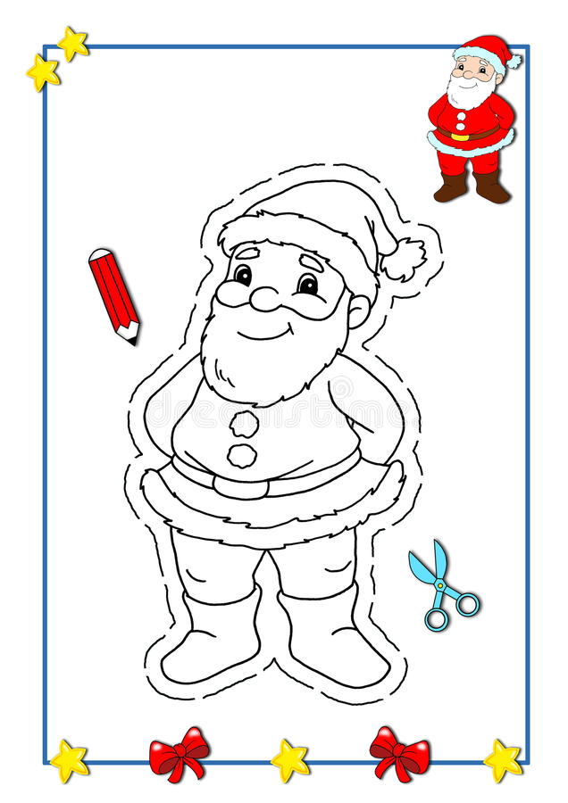 Libro de colorante de la Navidad 1