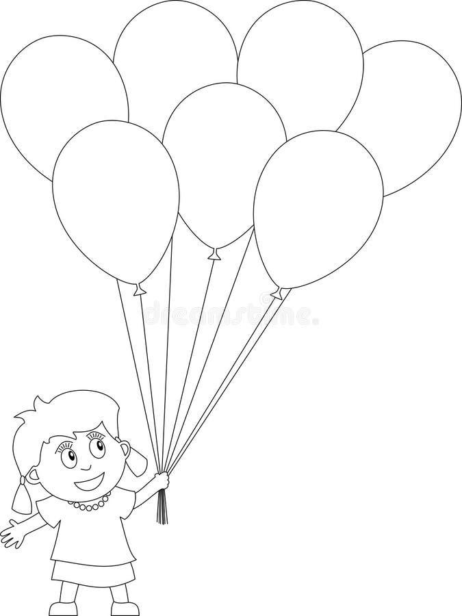Libro de colorante para los cabritos [25] stock de ilustración
