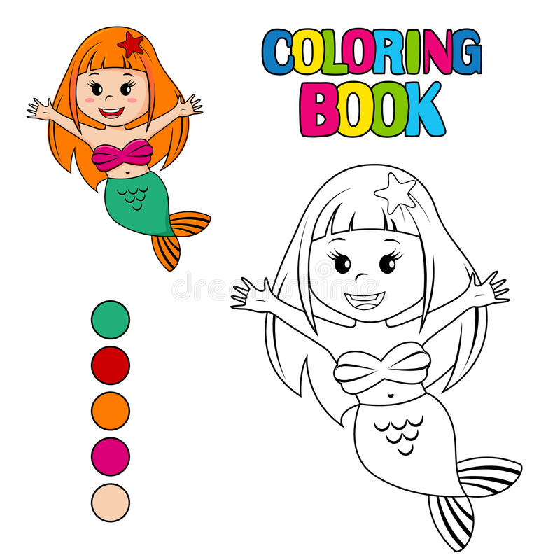 Hermosa La Coloración De La Pequeña Sirena Ideas - Dibujos Para ...