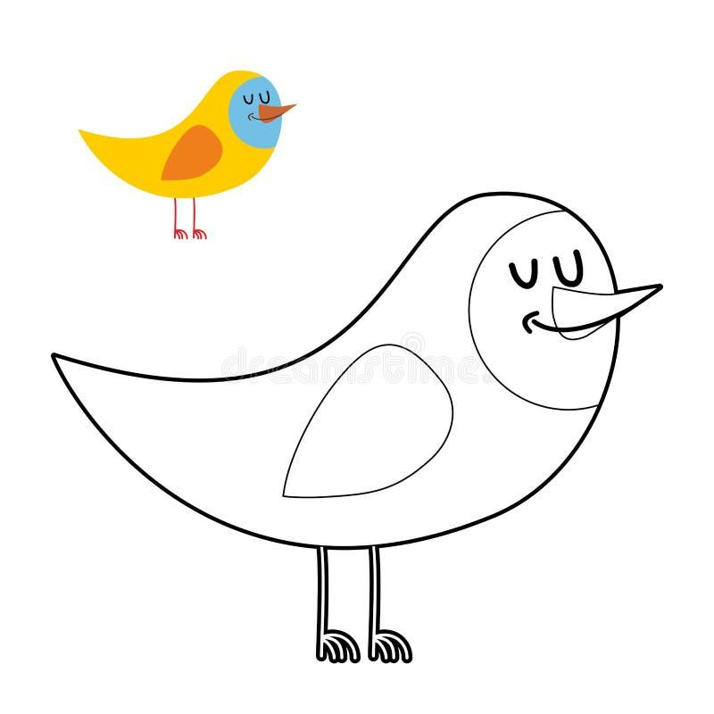 Asombroso Pájaros Enojados Para Colorear Libros Viñeta - Páginas ...