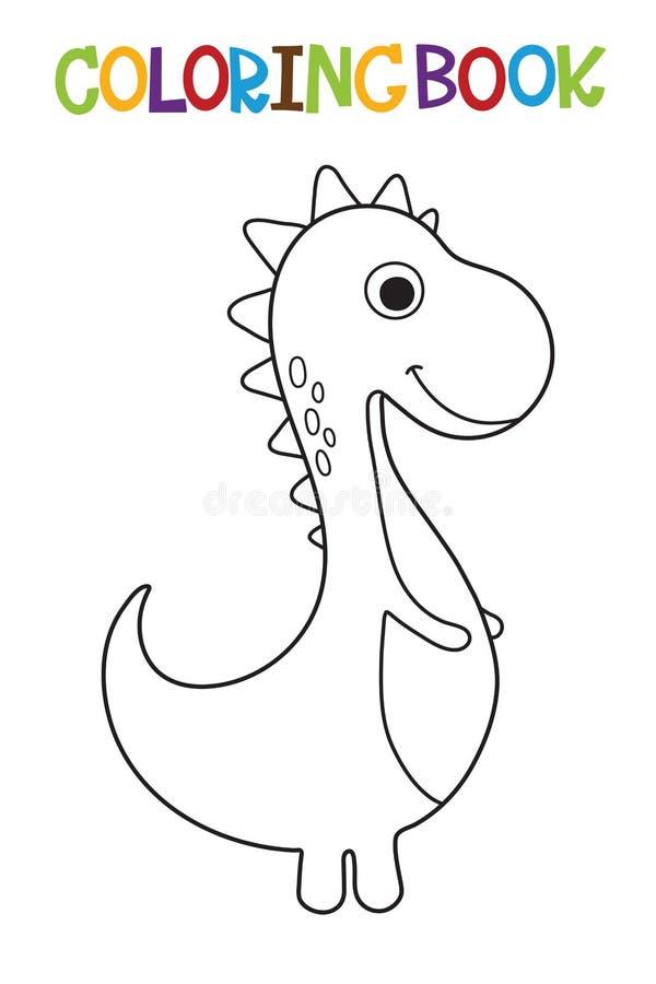 Excelente Lindo Dino Para Colorear Elaboración - Dibujos Para ...