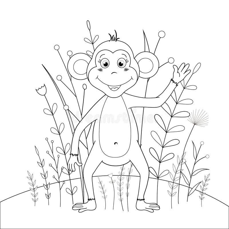 Libro De Colorear De Los Niños S Con Los Animales De La Historieta ...