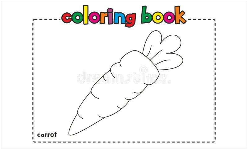Libro De Colorear Simple De La Zanahoria Para Los Ninos Y Los Ninos Ilustracion Del Vector Ilustracion De Colorear Zanahoria 102793220 Si bien la zanahoria no es considerada definitivamente como una sustancia adelgazante. colorear simple de la zanahoria