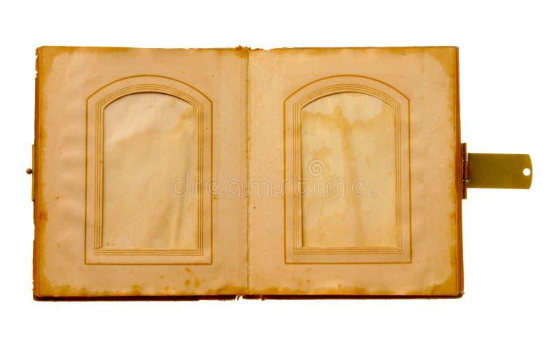 Libro de cuadro viejo foto de archivo libre de regalías