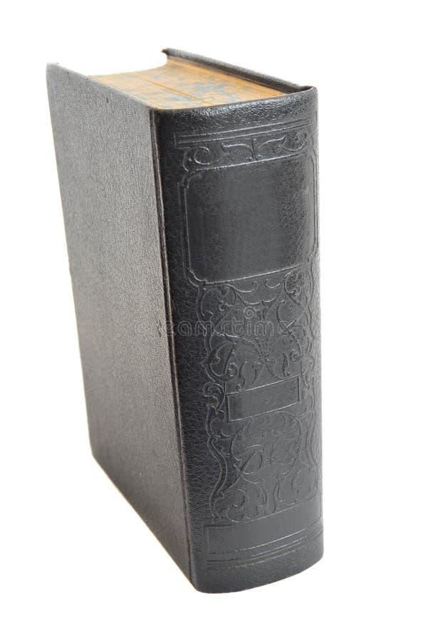 Libro de Hardcover antiguo aislado encendido fotos de archivo libres de regalías