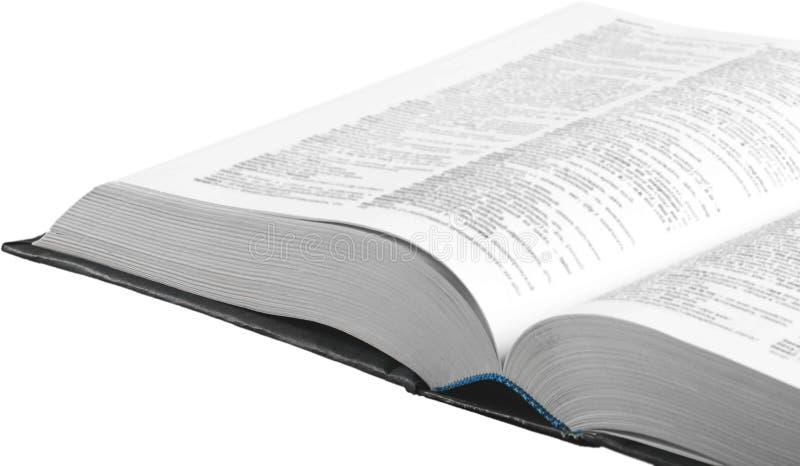 Libro de la biblia santa en el fondo blanco foto de archivo