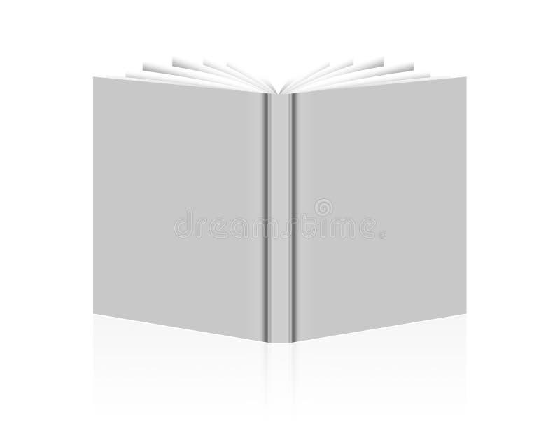 Libro de la boda ilustración del vector