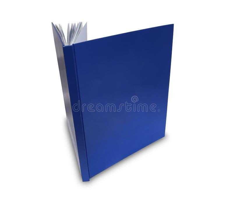 Libro de la cubierta en blanco foto de archivo