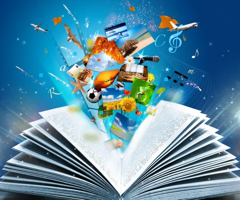 Libro de la fantasía libre illustration