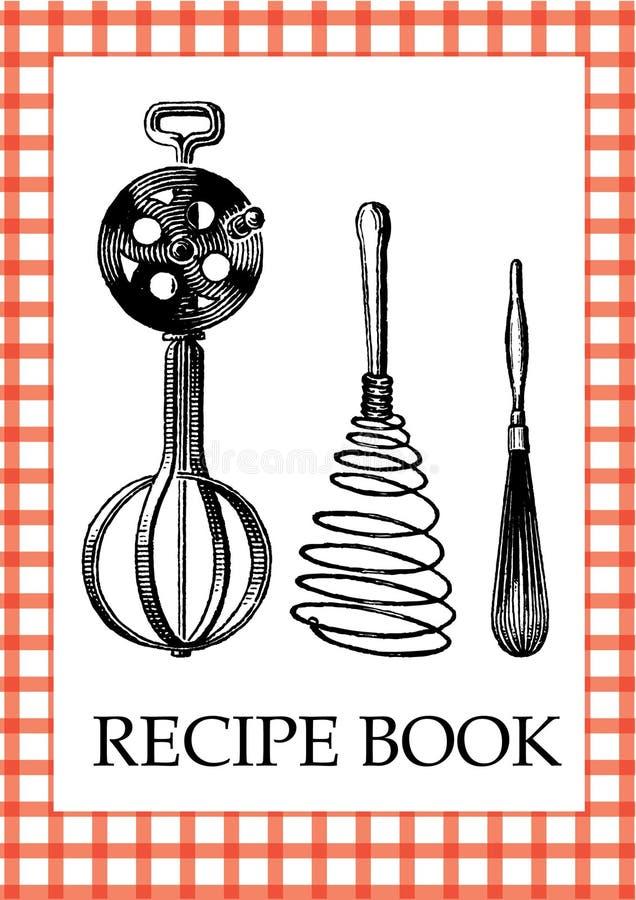 Libro de la receta ilustración del vector