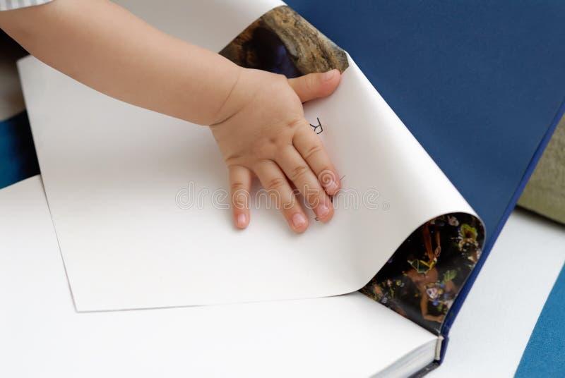 Libro De Lectura Del Bebé Imagen de archivo