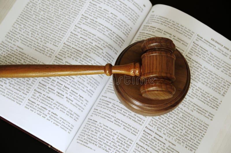Libro de ley imagen de archivo