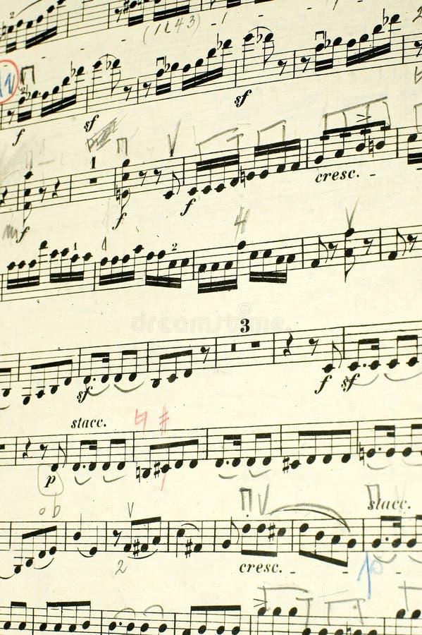Libro de música imagenes de archivo