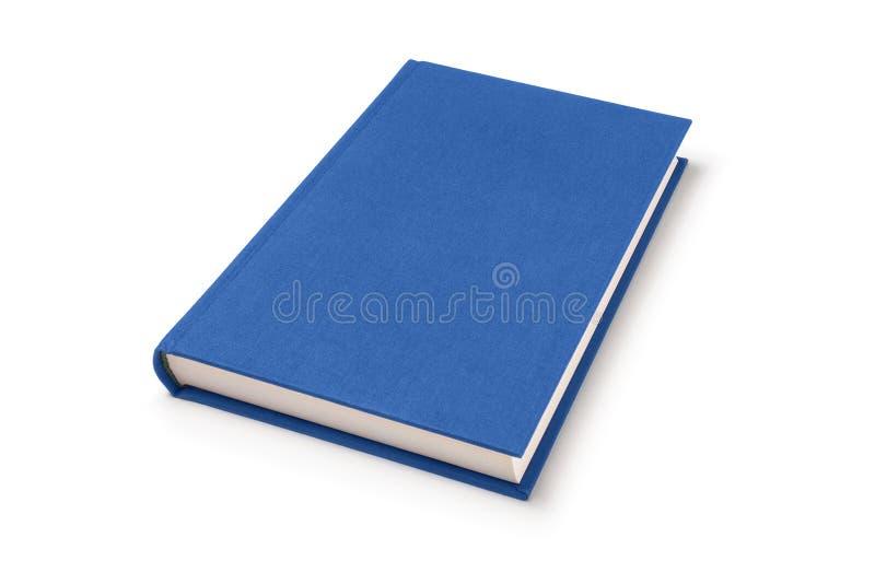 Libro de mentira azul, opinión de perspectiva foto de archivo