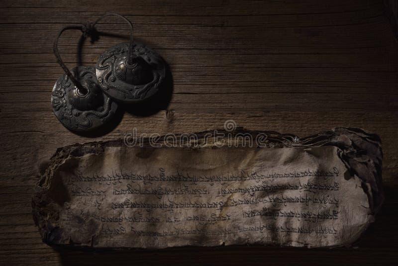 Libro de oración budista imágenes de archivo libres de regalías